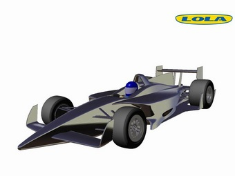 Ателье Lola представило проект болида серии IndyCar