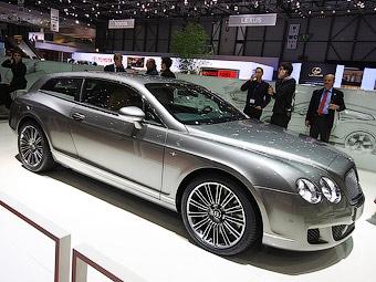 Кабриолет Bentley Continental GTC превратили в трехдверный универсал