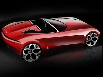 Ателье Pininfarina показало новый родстер Alfa Romeo