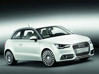 Компания Audi показала в Женеве электрокар с роторным двигателем