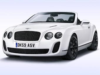 Компания Bentley представила самый быстрый кабриолет в мире
