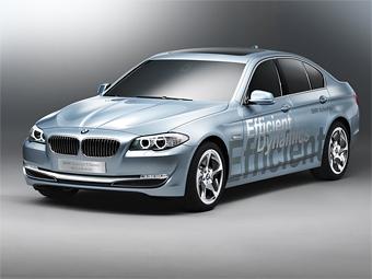 """""""Пятерку"""" BMW превратили в интеллектуальный гибрид"""