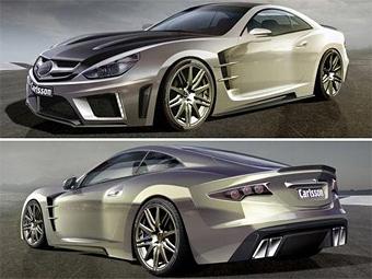 Немецкий тюнер построил суперкар на базе Mercedes SL