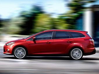 Состоялась премьера нового универсала Ford Focus