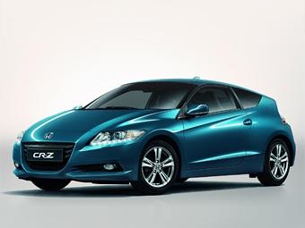 Европейская версия гибридного купе Honda получит светодиодные фары