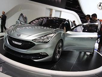 """Компания Hyundai привезла в Женеву прототип новой """"Сонаты"""""""