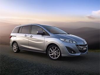 Компания Mazda покажет в Женеве новый минивэн