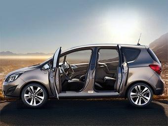 Компания Opel показала интерьер новой Meriva
