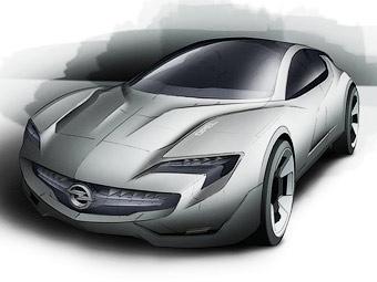 Компания Opel рассекретила новый гибридный концепт-кар