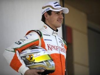 Команда Force India показала лучшее время на первых заездах Формулы-1