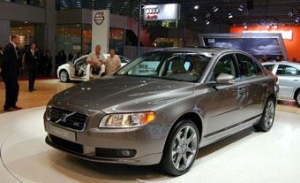 Volvo привезла в Россию новый седан S80