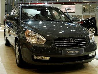 На Московском автосалоне Hyundai представил седан Verna