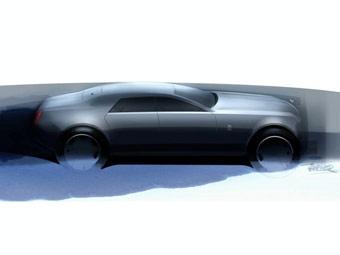 Компания Rolls-Royce опубликовала первые скетчи модели RR4