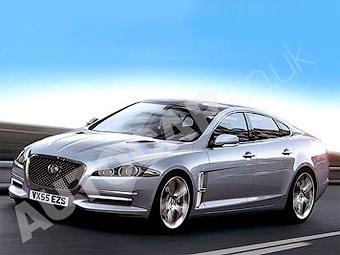 Новый флагманский седан Jaguar появится в июле