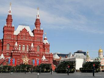 В Москве на три дня перекроют движение в центре из-за Парада Победы