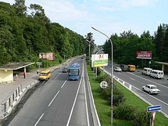 В 2009 году для борьбы с пробками в Сочи ограничат движение