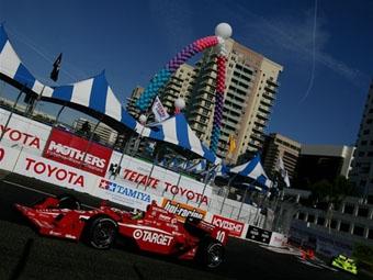 Дарио Франкитти выиграл Гран-при Лонг-Бич