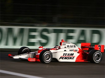Команды Penske и Ganassi закончили тесты IndyCar на первых местах