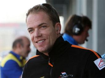Роберт Доорнбос занял второе место на тестах IndyCar Series