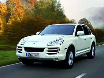 Дизельный Porsche Cayenne появится в Европе в феврале