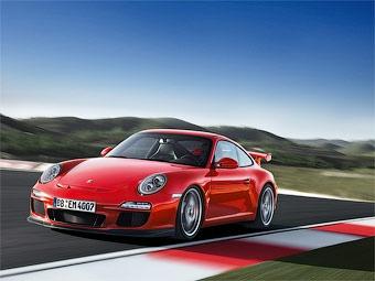 Компания Porsche обновила трековый суперкар 911 GT3