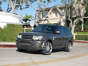 На выставке SEMA представили трехдверный Range Rover Sport