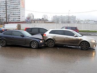 В январе в России увеличилось количество аварий