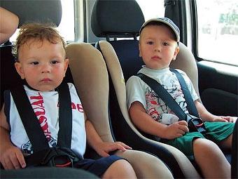 Британские водители не знают новых правил перевозки детей