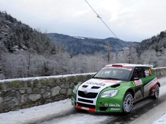 Команда Skoda будет готовиться к гонкам IRC на этапах чемпионата Чехии по ралли