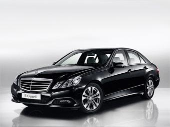 Mercedes-Benz представил бронированный E-Class