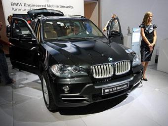 BMW представила в Москве бронированный X5 и новый дизель