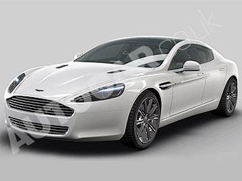 В британской прессе появились новые официальные снимки Aston Martin Rapide