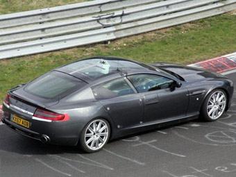 Aston Martin Rapide получит стеклянную крышу