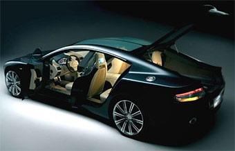"""Volvo поможет Aston Martin доделать """"четырехдверное купе"""" Rapide"""
