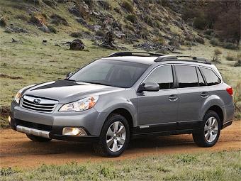 Новый Subaru Legacy Outback стал выше и просторнее
