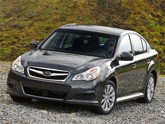 Компания Subaru официально представила новый седан Legacy