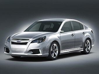 В Детройте представили прототип Subaru Legacy нового поколения