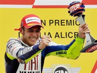 Валентино Росси стал победителем Гран-при Италии
