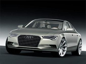 Компания Audi представила четырехдверное купе Sportback Concept