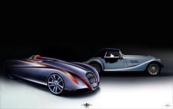 Британцы построят экологически чистый спорткар на базе Morgan