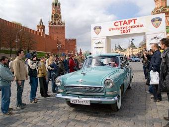 В субботу в Москве пройдет ралли классических автомобилей