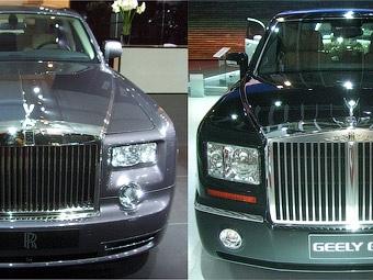 """Rolls-Royce накажет Geely за """"клонирование"""" своего седана"""