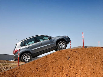 Volkswagen Tiguan получил переднеприводную модификацию
