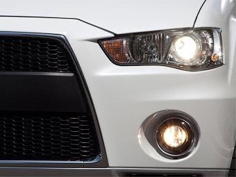 В Нью-Йорке Mitsubishi покажет Outlander с внешностью Lancer Evolution