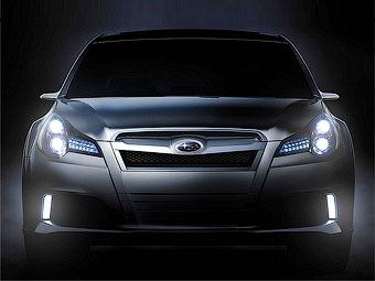Прототип Subaru Legacy нового поколения представят в Детройте