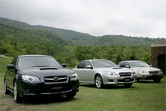 Продажи дизельных Subaru Legacy начнутся в феврале