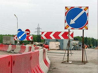 В Подмосковье началось строительство первой платной дороги