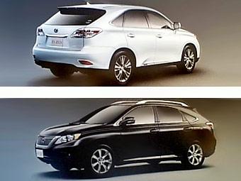 В сети показали первые изображения Lexus RX нового поколения