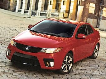 Компания Kia представила первое в своей истории купе