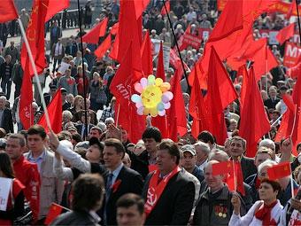 Из-за первомайских демонстраций в центре Москвы ограничат движение